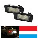 Eclaire-plaque LED Porsche 987 997